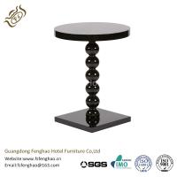 Villa / Resort Contemporary End Tables Ash Wood With High Gloss Paint