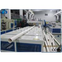 Buy cheap 75~250mm PVC Pipe Manufacturing Machine With Siemens PLC Electric Control from Wholesalers