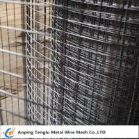 Buy cheap Square Welded Wire Mesh  Larger Opening Than Woven Mesh 12.7x12.7x0.9 mm from wholesalers