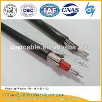 Buy cheap Al 8000 Series 2X8AWG, 2X10AWG, 2X6AWG, 3X8AWG Aluminum Concentric Cable from wholesalers