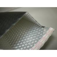 Buy cheap Heat Seal Black Poly Bubble Mailers 0 / 6 By 10 , Bubble Lined Courier Bags For Apparel from Wholesalers
