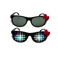 Buy cheap Pormotional 3D Fireworks Glasses For Gifts , Girl Hello Kitty Plastic 3D Glasses from Wholesalers