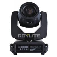 Buy cheap 8 Prisms Three Glass Lens Moving Head Spot Light 5R Sharpy DMX Stage from Wholesalers
