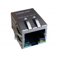 Buy cheap PTC1111-54L1VG RJ45 Jack With Magnetic module LAN 10/100BASE T Non-Shield from Wholesalers
