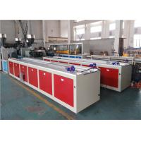 Buy cheap 150KG/H PVC Profile Extrusion Line With Plc Touch Screen Control Energy Saving from Wholesalers