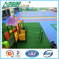 Buy cheap ISO Playground Rubber Mats PP Interlocking Suspension Floor High UV Resistant Anti Aging from Wholesalers