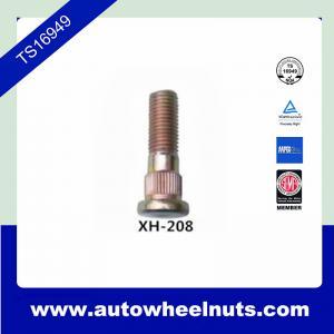 China 10.9 Grade Long Zinc Wheel Knurl Stud Replacement O.D.14.2mm Length 48.4mm on sale