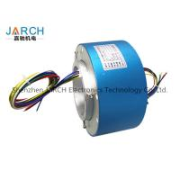 Buy cheap Lead free100mm through bore electrical slip ring / miniature slip ring Max speed:500RPM from Wholesalers