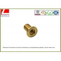 Quality CNC Machining precision stainless steel / brass pin shaft Passed ISO 9001 wholesale