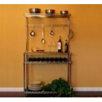 "Buy cheap Kitchen Kit 14""d x 36""w x 64""h Wine Shelving from Wholesalers"
