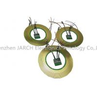 Buy cheap Through large bore 108mm 14 circuits pancake slip ring ultra thin pcb slipring 5mm for medical equipments from wholesalers