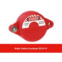 Buy cheap ABS Industrial Suitable for 25mm - 64mm Safety Gate Valve Lockout from Wholesalers