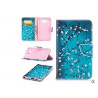 Buy cheap Cherry Blossom Card Pocket Phone Case , Pu Leather Phone Cases For Huawei from Wholesalers