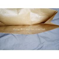 China Biodegradable Brown Multiwall Paper Bags 50 Kg For Building Material on sale