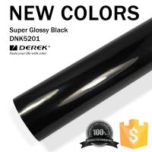 Super Glossy Car Wrapping Film - Super Glossy Black