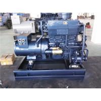 Quality 50HZ 400V 20KW Marine Diesel Generator Electric Starting With Sea Water Pump wholesale