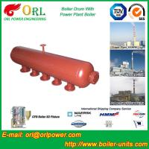 Buy cheap High Temperature Steam Drum In Boiler , Blowdown Drum Low Pressure from wholesalers