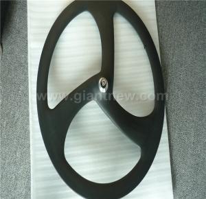 China bicycle wheel,carbon wheel,3-Spoke Carbon Wheel 700c on sale