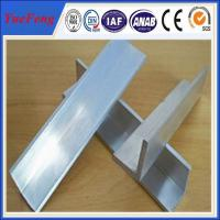 Buy cheap 2015 new products mill finish 6063 customized aluminum angle aluminum extrusion profile from Wholesalers