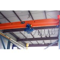 Buy cheap 5~20 T Industrial Single Girder Bridge Crane , Electric Hoist Overhead Crane from Wholesalers