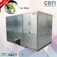 Buy cheap High Production Big Capacity Ice Cube Machine With LG Electrical Components from Wholesalers