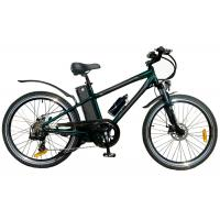 Buy cheap Custom Black Adults 250W MTB Electric Bicycle for mountain terrain from Wholesalers