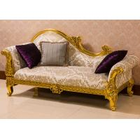 Buy cheap Luxury European style Custom Wooden Lounge Chair Chaise Lounge Cushions For Hotel from Wholesalers