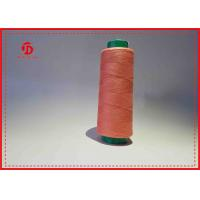 Colorful Dyed Polyester Sewing Thread Heavy Duty Ring Spun / TFO Twist