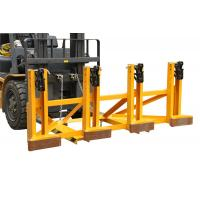 Buy cheap Black Eager - Gripper Forklift Drum Lifter with Adjusting Height , Bandage Type from Wholesalers