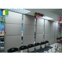 Buy cheap MDF Folding Partiion Walls for Home , Meeting Room Movable Partition Walls from Wholesalers