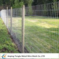 Buy cheap Galvanized Kraal Mesh Fence/Grasslanf Fence Wire Fencing for Pasturing Area from wholesalers