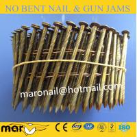 Buy cheap 2.3*50mm 15 Degree Wire Welded Coil Nails for wooden pallet from wholesalers