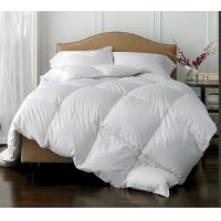 Buy cheap Polyester Fabric White Duck Feather downproof  Quilt , High Grade Light weight Comforter from Wholesalers