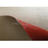 Buy cheap Chemical Corrosion Silicone Coated High Silica Fiberglass Fabric Cloth Multi Color from Wholesalers