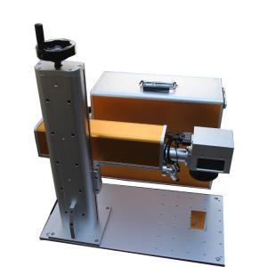 Buy cheap Portable Fiber Laser Marking Machine EZ-CAD Software JCZ Card Brand from Wholesalers