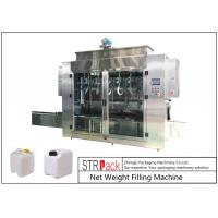 Buy cheap Pesticide Liquid Weighing Filling Machine 10-16 B / MIN To Fill 5 - 25L Drums And Jerrycans from Wholesalers