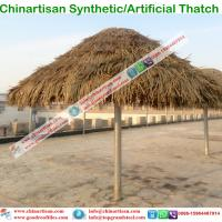 Buy cheap Artificial Palm Synthetic Thatch for hotels Umbralle pavilion tiki hut tiki bar from Wholesalers