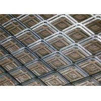 Buy cheap Galvanized Surface Stainless Steel Expanded Mesh / Stainless Steel Wire Mesh Sheets from Wholesalers