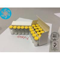 Buy cheap Raw Peptide Lyophilized Powder Growth Hormone Releasing Hexapeptide 6 GHRP - 6 from Wholesalers