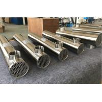 Buy cheap Stainless Steel Swimming Pool Solar shell and Tube Heat Exchanger from wholesalers
