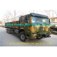 Buy cheap Colourful Sinotruk 4 x 4 / 8 x 8 All Wheel Heavy Cargo Trucks 30 - 80t  371hp  WITH ONE BED AND AIR CONDITIONER from Wholesalers