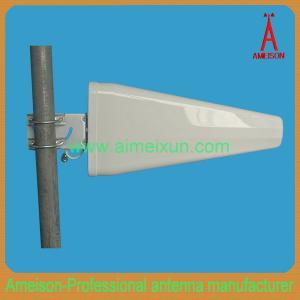 Buy cheap Ameison 800MHz-2.7GHz 11dBi Log Periodic Broadband Yagi Antenna LPDA Wifi Antenna from wholesalers