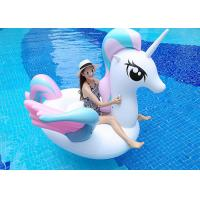 China Sweet Candy Unicorn Pool Float for Girls Nontoxic PVC Material on sale