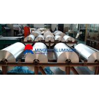 Buy cheap Mingtai supplies 1050 1060 1070 1100 1235 aluminum foil for lithium battery from Wholesalers