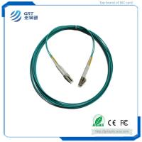 Buy cheap Good repetibility 3m duplex LC-LC connector 10Gb MM multimode fiber optic Patch Cable with Corning's core from Wholesalers