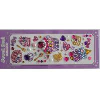 Buy cheap Colorful Rhinestone Sticker Ice Cream Jewelry Acrylic For Iphone Laptop from Wholesalers
