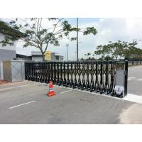 Buy cheap Security Trackless Automatic Folding Gate Retractable For University from wholesalers