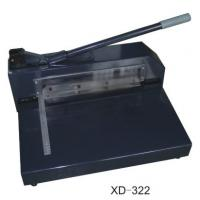 Buy cheap Manual Paper Cutting Machine , Electric Heavy Duty Paper Cutter  XD-322 from Wholesalers