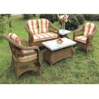 Buy cheap Wholesale Outdoor Rattan Furniture,Wicker Sofa Set Waterproof from wholesalers