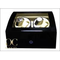 Buy cheap Ebony Watch Winder With Glossy Painting , Watch Storage Box With Winder from Wholesalers